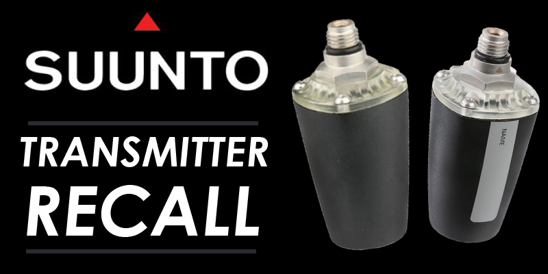 Suunto Transmitter Recall Notice